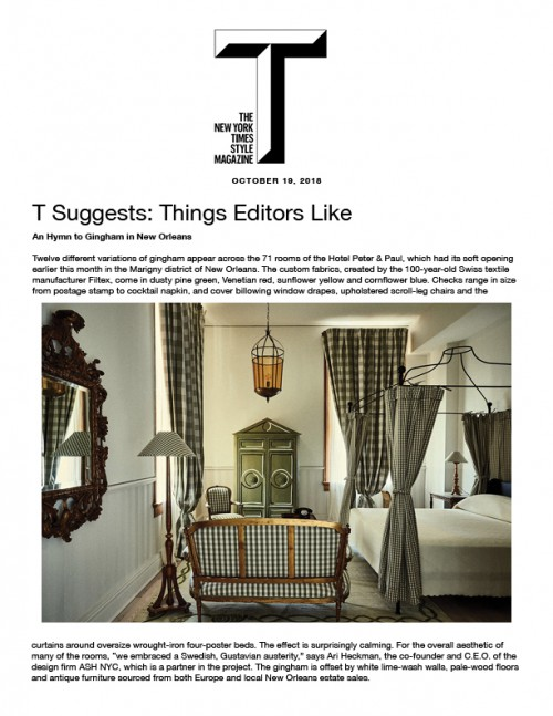 T: Suggests - Things Editors Like